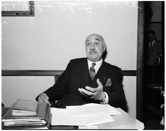 Language expert from Chile, 1958