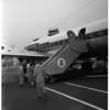 1st United DC-6B leaves LA today, 1951