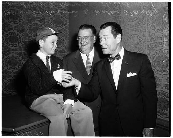 Baseball -- Knot hole gang, 1958