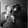 """Smokey"" the Bear at Ad club, 1958"