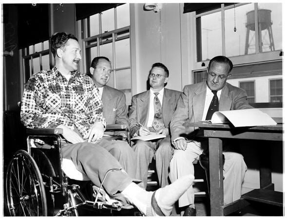 Divorce on mental cruelty (Long Beach Veterans Hospital), 1952