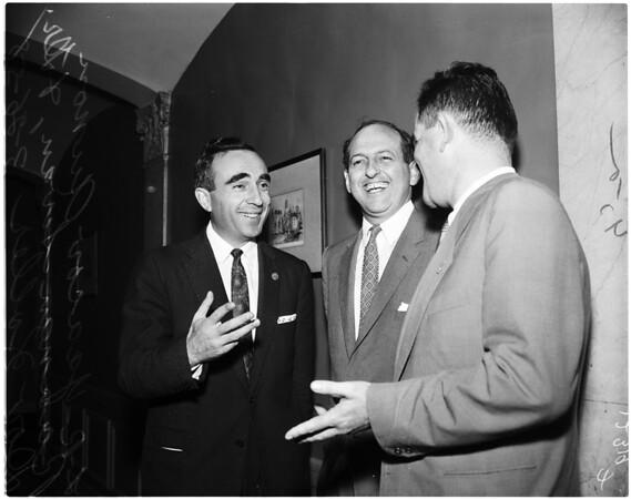 California Israel Chamber of Commerce, 1958