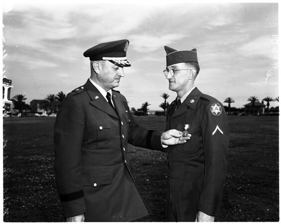 Soldiers Medal, 1958
