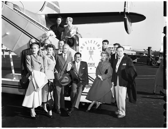 """""""Movietime USA"""" Tour, 1951"""