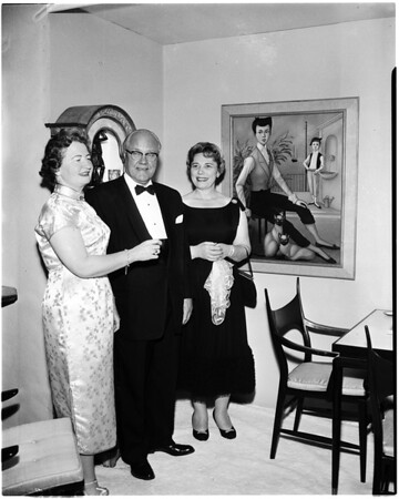 Left to right, 1958.