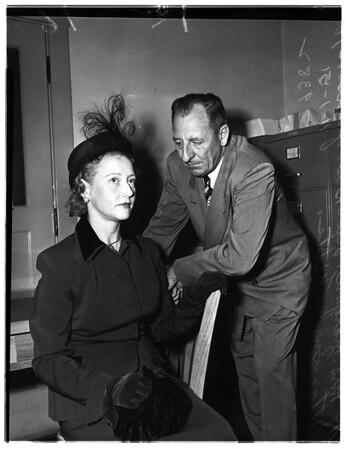 Divorce Case ... Pasadena, 1951