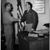 Newly Appointed Commander of Southern California-Arizona Army Recruiting District, 1951