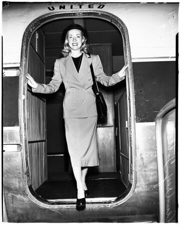 Returns from Korea, 1951
