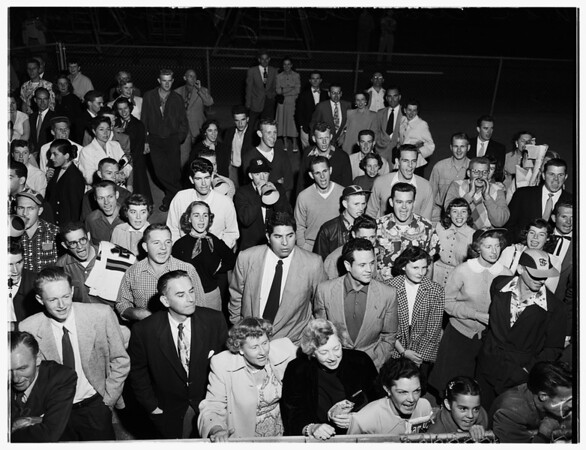 Hollywood  versus Sacramento (First Game), 1951