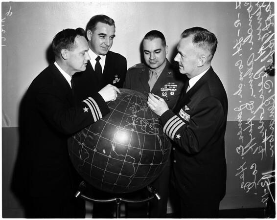 Navy War College, 1958