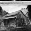 Photo of the first house in Pasadena, erected by A.O. Bristol in January 1874, 1929
