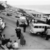 Traffic accident on Hiway 101, 1958