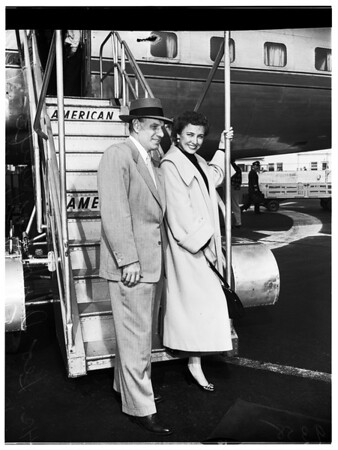 Arrival in Los Angeles, 1951