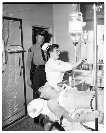 Court escapee shot, 1958