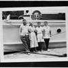 "Skipper of yacht ""Valinda"", 1958"