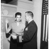Indian navy nurse recruit, 1958