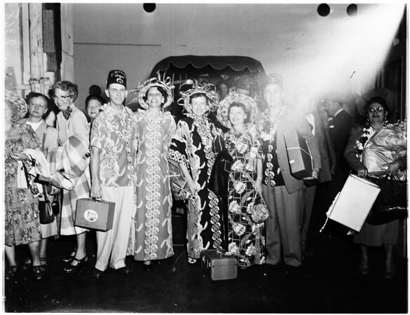 Returning Shriners (Harbor), 1951