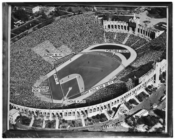 Los Angeles Coliseum, 1958