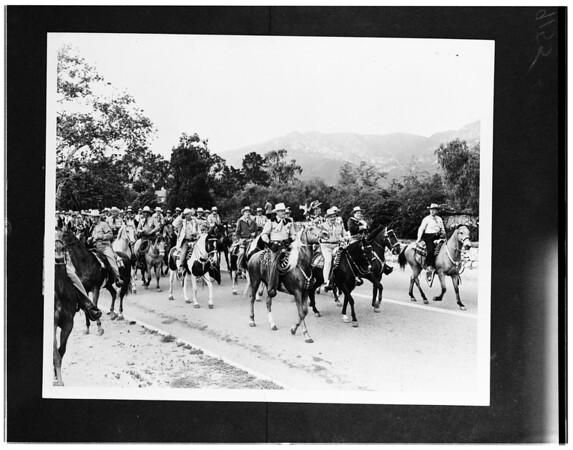 Los Rancheros Vistadores (copy negative), 1951