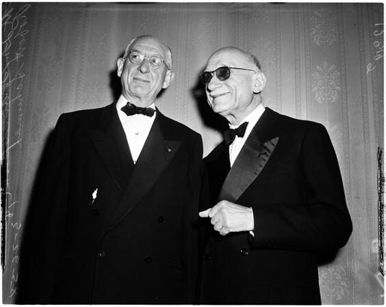 Sproul retiring, 1958
