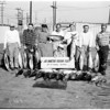 Albacore catch ...more than thirty fish weighing to forty pounds ...Joe Martin's 22nd Street landing, San Pedro, 1951