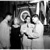 Air Force mercy pilots award, 1958