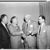 Miracle Mile father of the year award, 1952