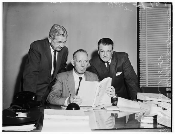 Fired housing men, 1958