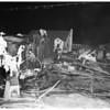Garage fire (1007 Wilcox avenue), 1952