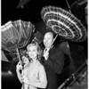 Miami sends umbrellas to Los Angeles, 1952
