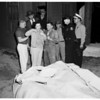 Two killed in city pump house sewer, Long Beach, 1952