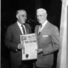 Supervisor honor Doctor Lowman, 1958
