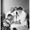 Santa Anita jockeys tested for serum cholesterol, 1957