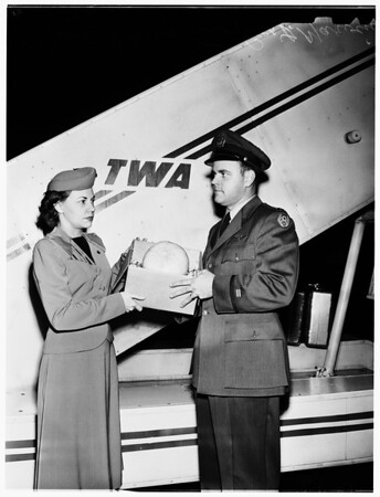 Melon for dying Major, 1951