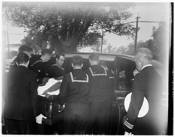 Overton funeral, 1951
