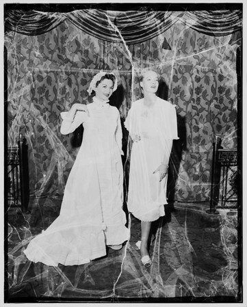 Night clothes, then and now ... California fashion creators at Ambassador Hotel, 1952