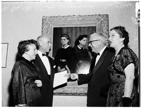 Degas exhibit, 1958