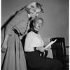 """Miss Redondo Beach"" witness in civil suit, 1954"