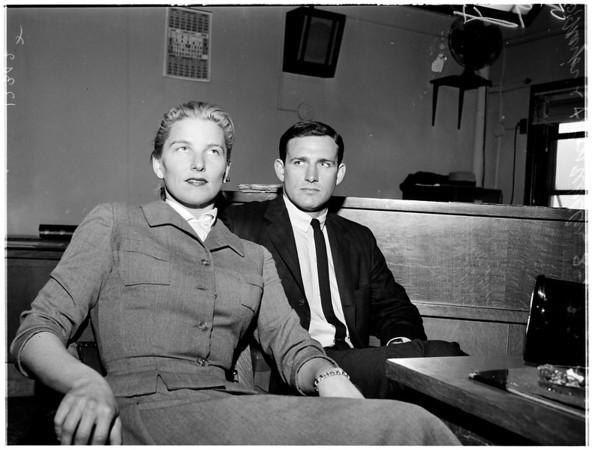 Waller drunk driving case, 1958.