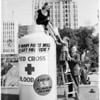 Red Cross fund drive, 1958