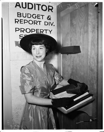 Martel divorce, 1952