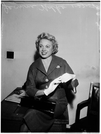 Support hearing, 1958