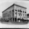 The Union Savings Bank Building at the corner of Colorado Street and Raymond Avenue, ca. 1880-1910
