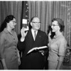New woman deputy, 1958