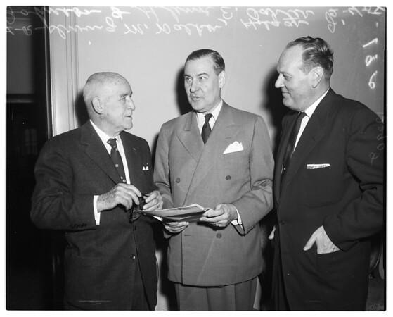United Service Organizations luncheon, 1958