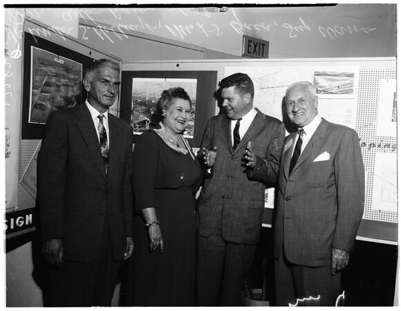 Planning Commission open house, 1958