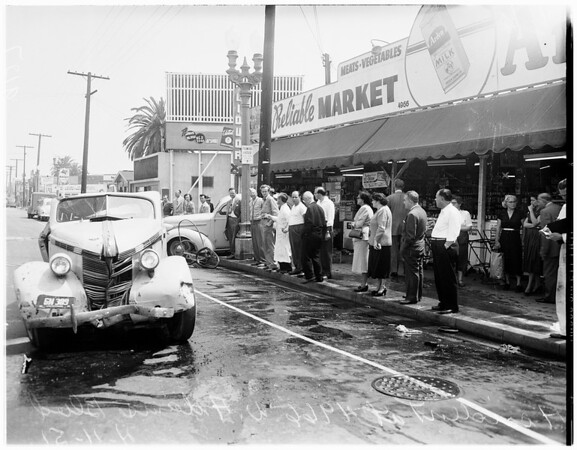 Accident at 4966 West Adams Boulevard, 1951