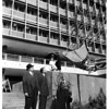 Tree planting at Union Oil Building, 1958