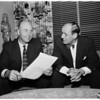 New contract with manager, 1957