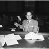 Narcotics hearing, 1951